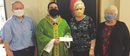 KJT donates to Immaculate Conception