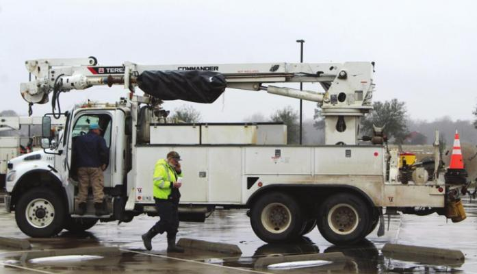 COLE MCNANNA CenterPoint workers weathered Winter Storm Uri and were dispatched to return power to much of the state that fell into darkness in the wake of arctic cold that arrived after Valentine's Day.
